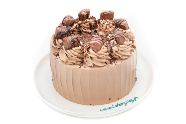 Layer cake Kinder Buenos® et Nutella®