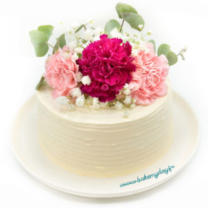 Flower cake par Bake my day