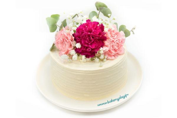 Flower cake par Bake my day
